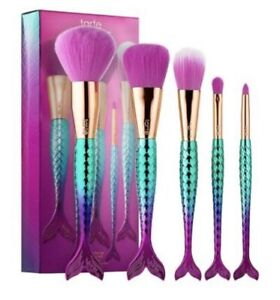 NEW Tarte Minutes to Mermaid Brushes kit with box full size 5pcs set