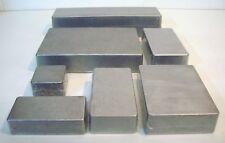 Aluminium DieCast Hammond STYLE Enclosure Stomp Looper Vape Box All Sizes
