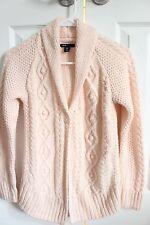 Gap Kids Girls Powder Pink Cable Knit Cardigan Sweater  XL Size 12