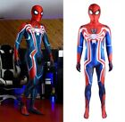Velocity Spider-Man Jumpsuit Spiderman Cosplay Costume For Adult Kids Halloween
