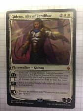 Mtg Magic the Gathering Battle for Zendikar Gideon, Ally of Zendikar
