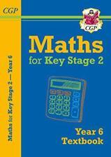 NEUF KS2 Maths Manuel Scolaire - Year 6 par CGP livres de poche 9781782947998