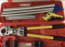 Pressatrice manuale raccordi tubo multistrato Pex th 16 20 25 26 32 con molle