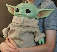 "NEW - The Child 11"" Baby Yoda Doll Disney Star Wars Mandalorian -  FREE SHIPPING"