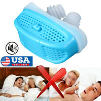 New MiCPAP Anti Snoring Devices Electronic Sleep Snore Stopper CPAP Nose Machine