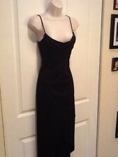 Black High/Low Sparkly Cocktail Dress Size Medium