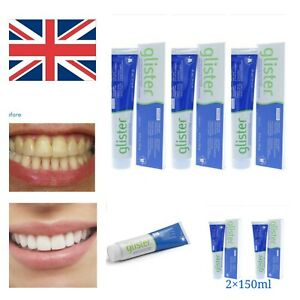 Amway GLISTER Multi-Action Fluoride Toothpaste 1,2 ,3 150ml/200g - UK