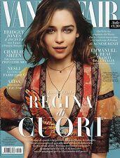 Vanity Fair 2016 28#Emilia Clarke,Lapo Elkann & Shermine Shahrivar,Charlie Sheen