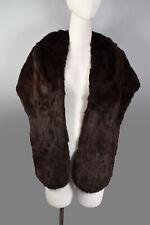 Original Vintage 1950s Glossy Fur Stole Shawl - Peaky Blinders Goodwood Revival
