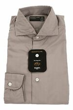 Barba 100% Cotton 17/43 Dandy Life Casual Shirt Olive Brown