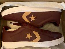 Converse Pro Leather Deep Bordeaux Tan 155665C Men's Size 11