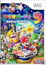 Used Wii Mario Party 9 NINTENDO JAPAN JP JAPANESE JAPONAIS IMPORT