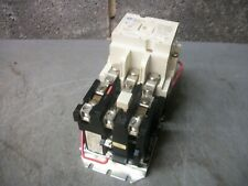 Westinghouse Size 2 Motor Starter A200m2cac 45amp 120vcoil 3ph 600v 25hp White