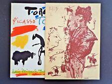Toros Y Toreros, Pablo Picasso, Luis Miguel Dominguin 1962, Mourlot, inv 286