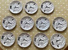 "11 Homemaker Plates - Ridgeway Pottery 1950-60's Vintage 7"" (17.8cm) Side Plates"