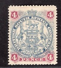 BRITISH SOUTH AFRICA COMPANY RHODESIA 1897 STAMP Sc. 54 MH