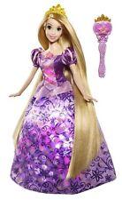 """DISNEY Princess contorte CANTARE E Glow Raperonzolo Bambola canta """"vedo la luce"""""""