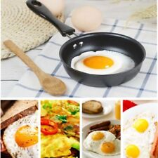 1x Mini Non-stick Egg Frying Pan Omelette Saucepa Cookware Kitchen Utencils 12cm