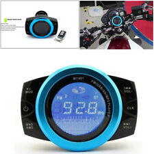 12V Motorcycle Audio Radio Stereo Speakers TF/USB Sound System Waterproof Great