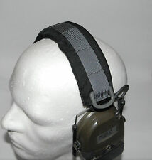 Cover Headset Hearing Protection Pad Peltor ComTac MSA Sordin Black Wolf Grey