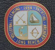 Venue Olympic Pin~Los Angeles~'84~Archery~Fencing~Volleyball~Yachting~Long Beach