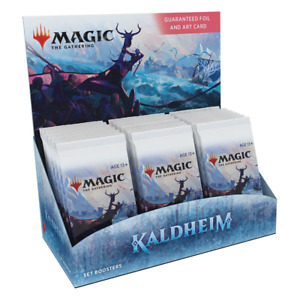 Magic the Gathering Kaldheim Set Booster Box NEW PREORDER 05/2