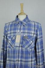 Superdry Men's Check Slim Regular Collar Casual Shirts & Tops