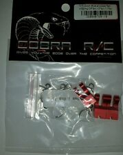 1 x COBRA RC ALUMINUM NITRO CLUTCH SHOE SET WITH 0.9,1.0 AND 1.1 SPRINGS