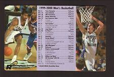 James Madison Dukes--1999-00 Basketball Magnet Schedule--Rockingham Group