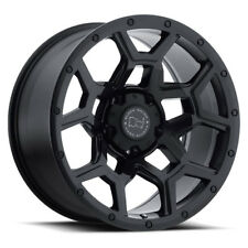 17 inch 17x8 Black Rhino Overland Matte Black wheel rim 6x130 +52