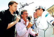 Jake Humphrey SIGNED Autograph 12x8 Photo AFTAL COA BBC Sport F1 Host Presenter