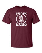 Chain Gang Disc Golf  Frisbee Frolf  Funny Sport Men's Tee Shirt 975