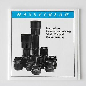 Hasselblad CF Series Lens Instruction NOS