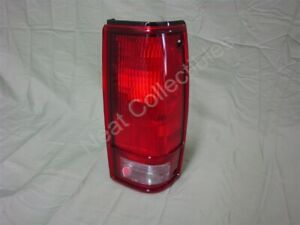 NOS OEM Chevy S10 S-10 GMC S-15 Pickup Tail Light Lamp 1982 - 93 Right Hand