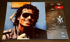 MICHAEL JACKSON 2011 Panini PLATINUM Decades SP #138 The King Of Pop VERY RARE