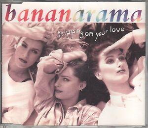 Bananarama  CD-SINGLE  TRIPPING ON YOUR LOVE   (c) 1991