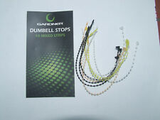 Gardner Dumbell Stops 10 Mixed Strips - Carp Coarse