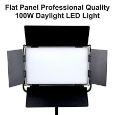 100W Flat Panel LED Light Dimmable LCD Display Photo Photography Video on Camera