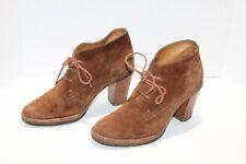 Ralph Lauren Collection Purple Label High Heel Chukka Suede Pump Loafer Size 8 B