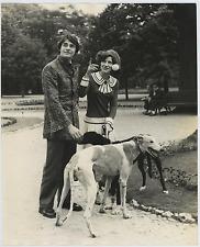 Gianni Calisi con Maria Luigia  Vintage silver print Tirage argentique  24x3