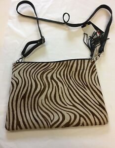 Gringo Fairtrade Leather Shoulder Bag With Printed Front