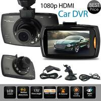 1080p HD Dash 2.7inch LCD Car DVR Cam Camera UK G Sensor Dashboard Night Vision
