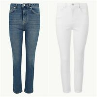 Women's Marks and Spencer Per Una Stretch Straight Leg Cropped Jeans RRP £39.50