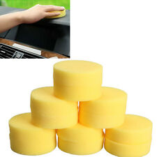 12pcs Polish Wax Round Foam Sponges Applicator Pads for Clean Car Glass