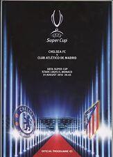 Orig.PRG   UEFA Super Cup 2012   Finale   FC CHELSEA - ATLETICO MADRID  !!  TOP