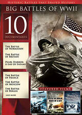 Big Battles of Wwii, Vol. 1 (Dvd, 2012, 2-Disc Set) 10 Documentaries