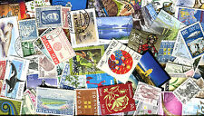 Iceland Lot of 250 Different Cancelled Stamps