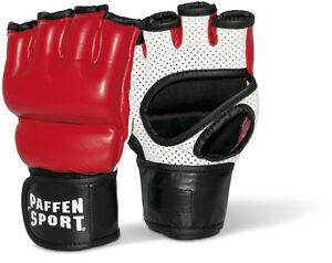 Paffen Sport Contact Air Freefight-Handschuh, rot/schwarz/weiß