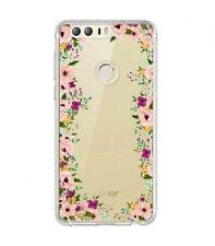 Coque Huawei P smart Fleur 14 liberty rose transparent