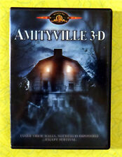 Amityville 3-D ~ DVD Movie ~ 1983 Poltergeist Ghost Haunted House Horror